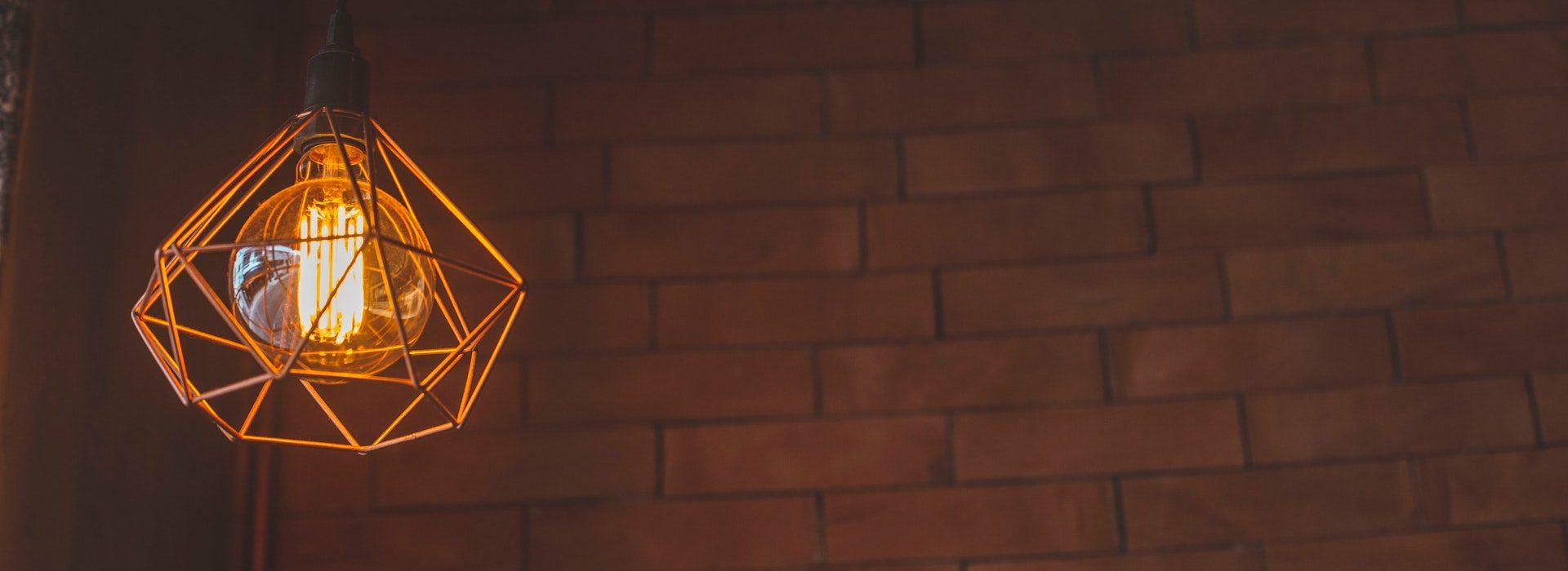 lightbulb banner